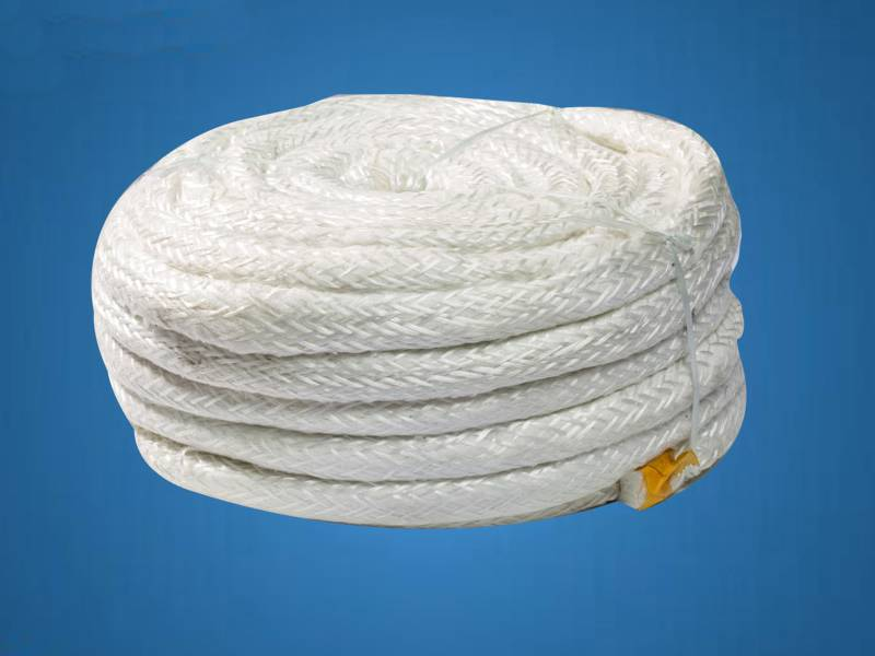 Asbestos lagging ropes with great flexibility