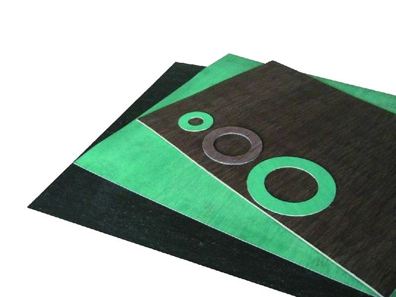 General paronite sheets and gaskets in black and green color